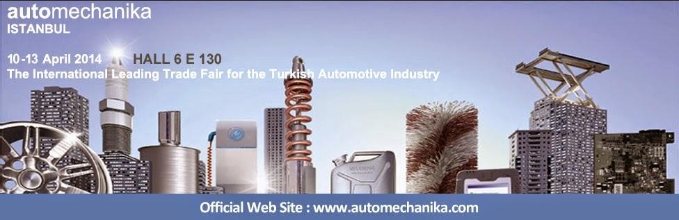 Lizarte en Automechanika Istanbul 2014