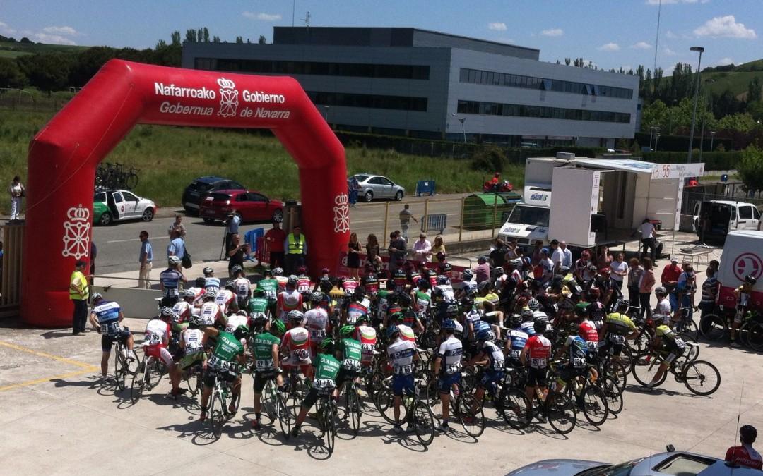 Lizarte, impresionantes en la Vuelta ciclista Navarra 2016