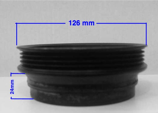Cómo medir la separación de la polea de un compresor en dos pasos