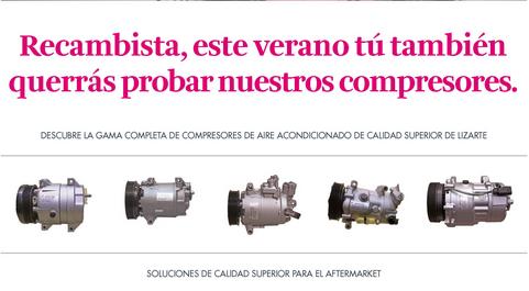 Novedades en la campaña de compresores de aire acondicionado