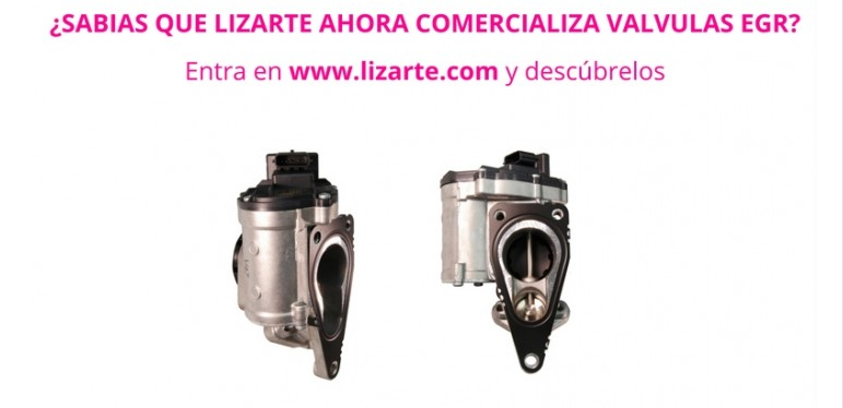 Lizarte se lanza a la comercialización de válvulas EGR