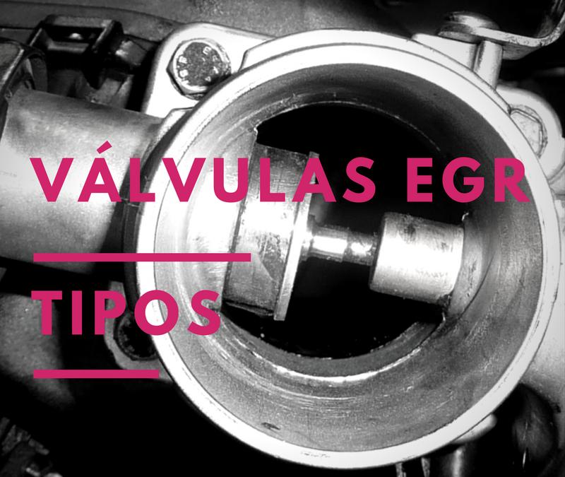 Función y tipos de válvula EGR