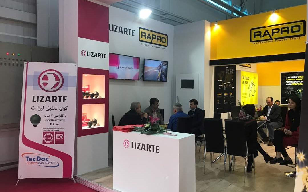 Lizarte asiste a la feria IAPEX 2017 en Irán