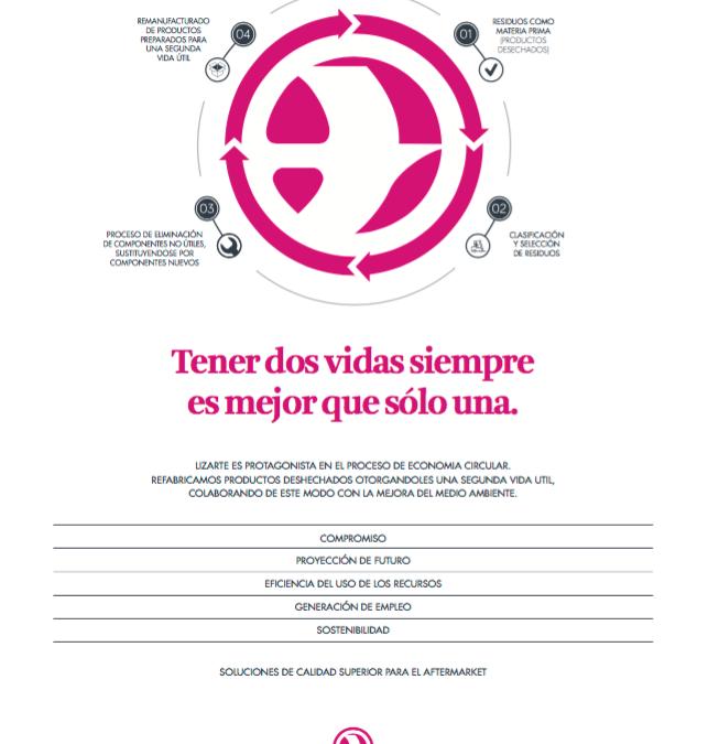 Economía circular en la Lizarte: la refabricación