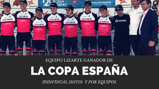 Doblete del equipo Lizarte en la Copa de España: Soto y por equipos